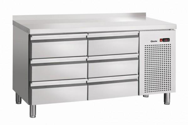 Bartscher Kühltisch S6-100 MA mit Aufkantung 50 mm