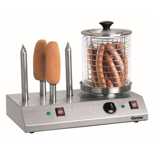 Bartscher Hot-Dog Gerät mit 4 Toaststangen