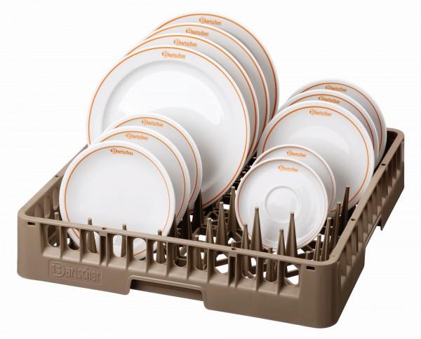 Bartscher Tellerkorb/Tablettkorb 500 mm x 500 mm x 100 mm