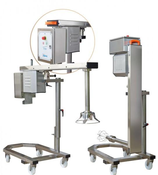 Dynamic Gigamix 460-500 DZR mit Drehzahlregulierung für 100 - 300 Liter