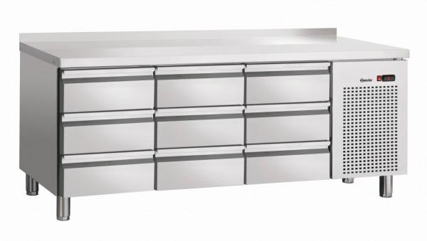 Bartscher Kühltisch S9-100 MA mit Aufkantung 50 mm