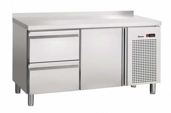 Bartscher Kühltisch S2T1-150 MA mit Aufkantung 50 mm