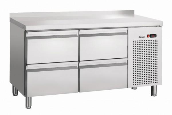 Bartscher Kühltisch S4-150 MA mit Aufkantung 50 mm