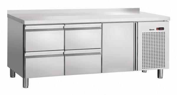 Bartscher Kühltisch S4T1-150 MA mit Aufkantung 50 mm